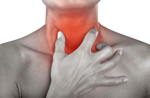 Боль в горле – ведущий симптом при фарингите.