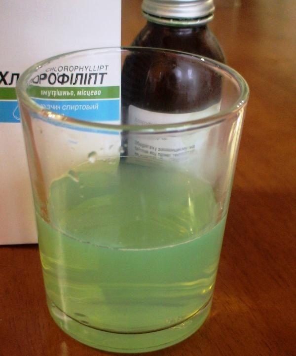 Для полоскания используйте только разведенное водой лекарство