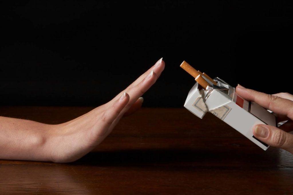 Отказ от курения – первый шаг на пути к выздоровлению.