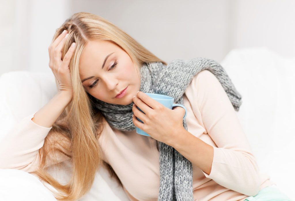 Существует множество причин першения и боли в горле у беременных