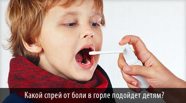 Фото. Спрей для горла