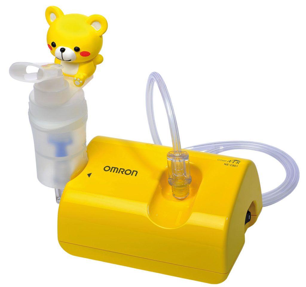 Ингалятор позволяет быстро доставить мельчайшие частички лекарства к участку воспаления и снять отек
