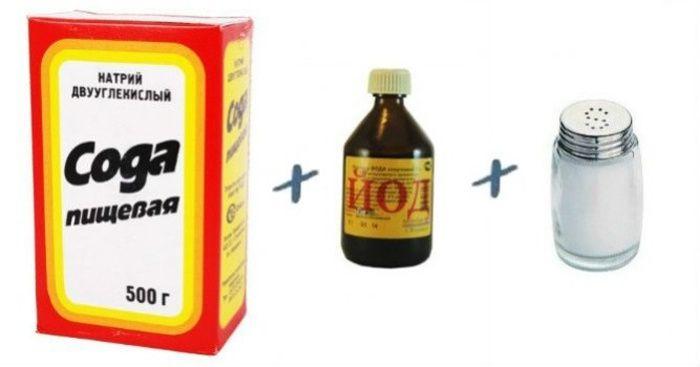 Как сделать раствор для полоскания из соды и соли