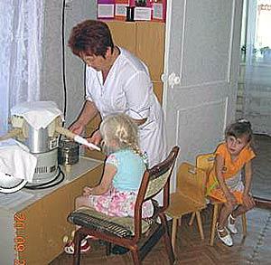 Один из методов лечения зева