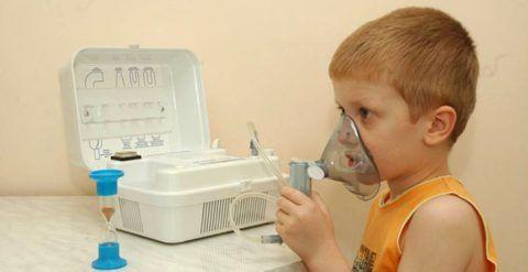 Один из вариантов лечения ларингита у детей