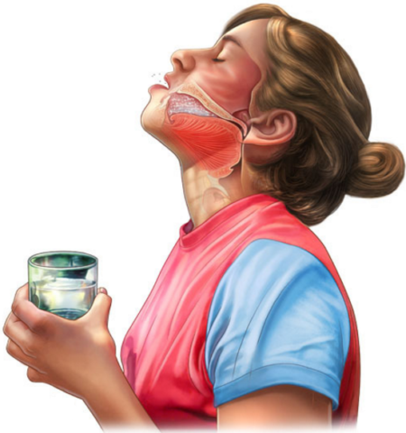 Полоскание горла при тонзиллите является надежным терапевтическим методам