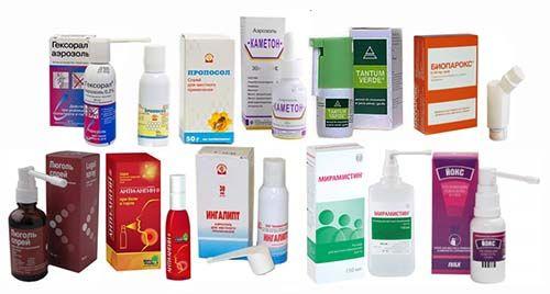 Препараты для лечения фарингита