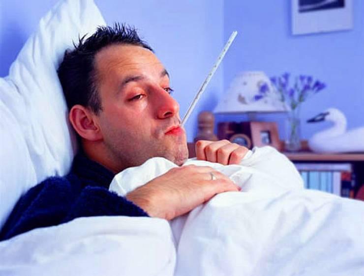 Симптомы интоксикации у больного ангиной