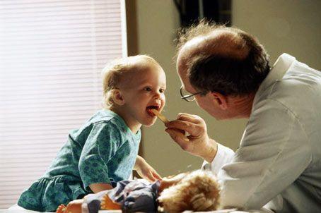 Здоровый ребенок не боится врачей