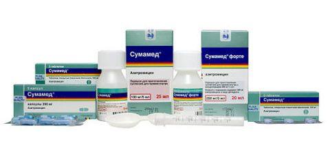 Антибиотики в таблетках и суспензиях