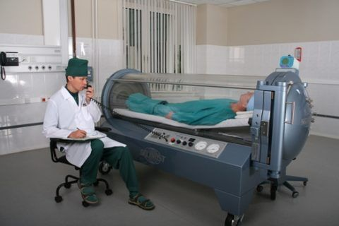 Гипербарическая оксигенация (лечение в барокамере)
