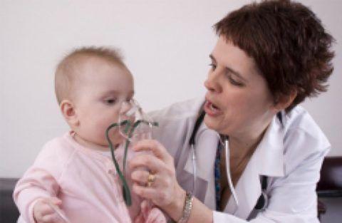 Ингаляция через небулайзер ребенку (фото)