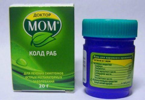 Мазь Доктор МОМ