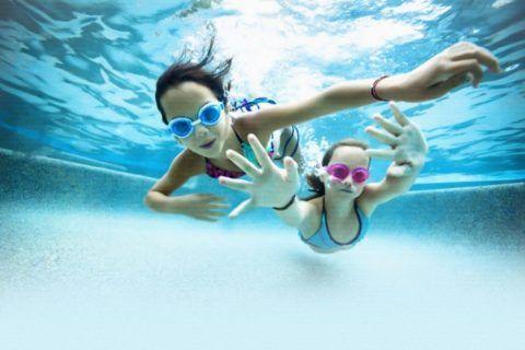 Плавать с аденоидами