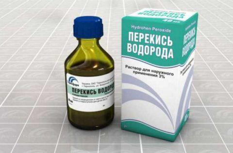 Раствор перекиси поможет вылечить больное горло