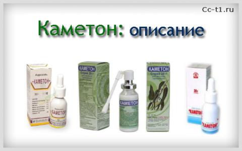 Спреи Каметон