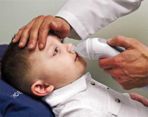 Безболезненная санация носовой полости