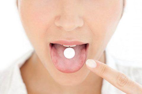 Чем дольше таблетка находится в полости рта, тем дольше она действует