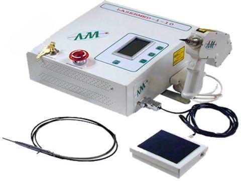Лазерный аппарат, используемый в ЛОР практике