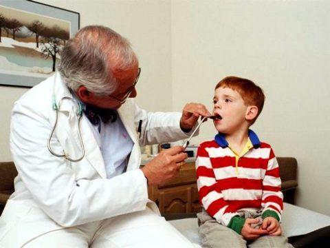 Осмотр и лечение аденоидов