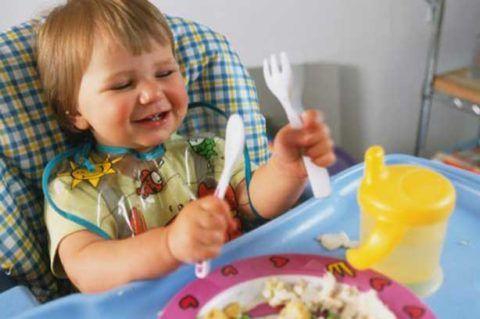 Правильное питание малыша до 2 лет значительно снижает риск возникновения аденоидных вегетаций в возрасте от 3 до 7 лет