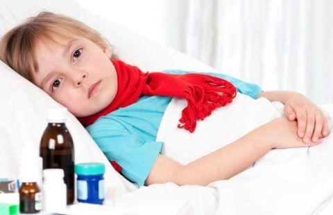 Ребенок может проходить лечение дома или в стационаре