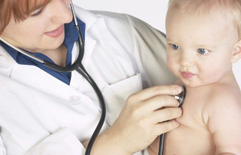 Способы лечения горла у детей до года