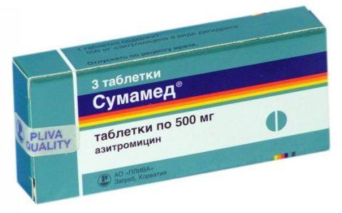 Антибиотик при хроническом тонзиллите из группы макролидов