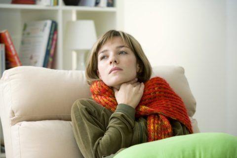 Хронический тонзиллит источник депрессии