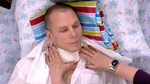 Компресс на горло избавит от кашля