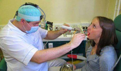 Современные методы лечения тонзиллита