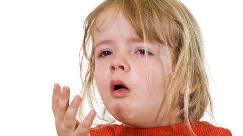 Типичный вид малыша во время приступа ларингита
