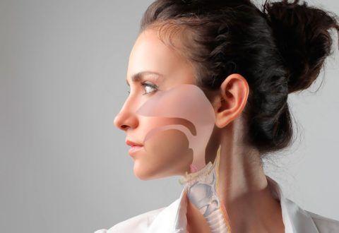 Чаще всего причиной отоларингита у взрослых является хроническое воспаление носоглотки