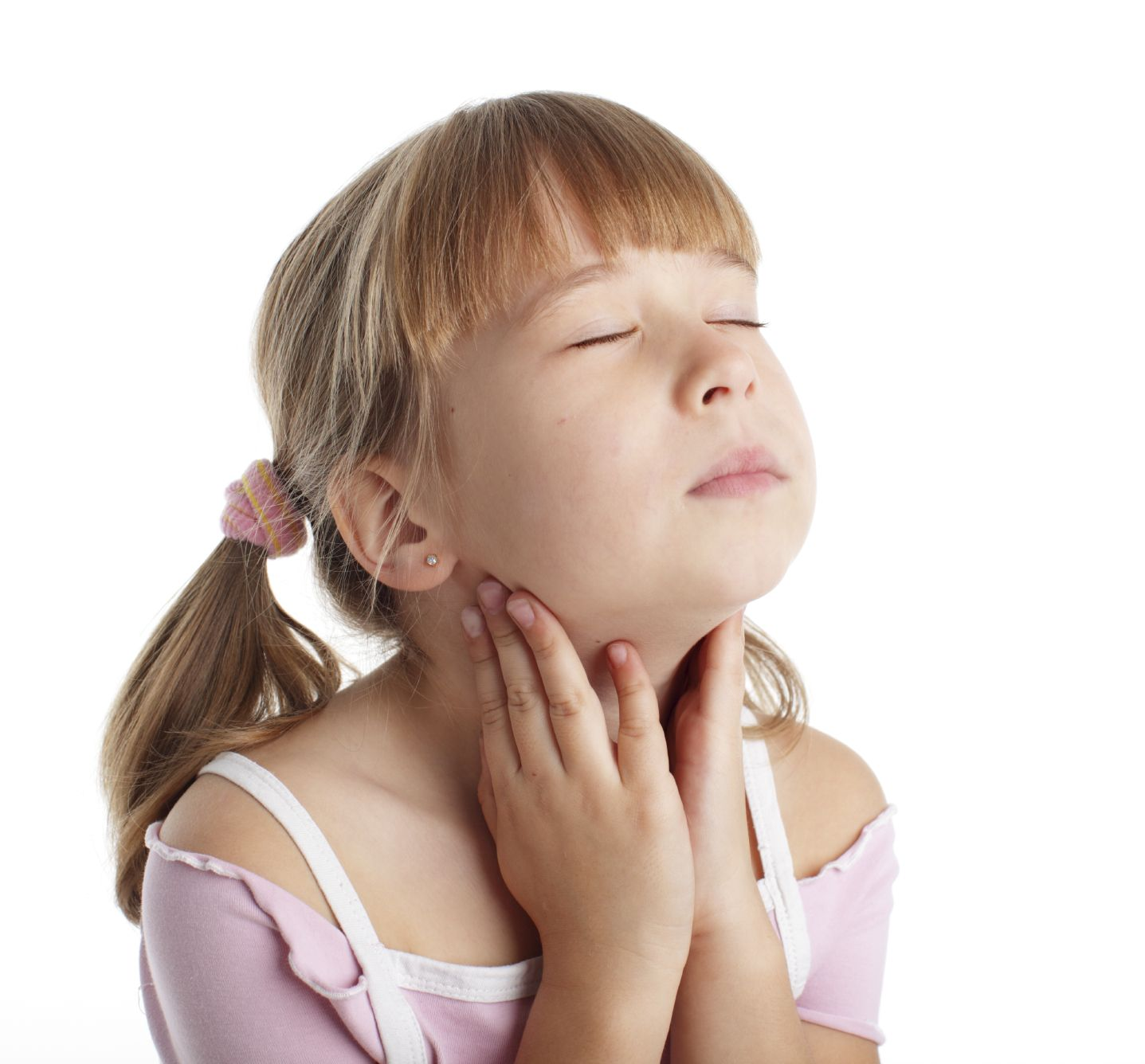 У ребенка осип голос и красное горло как лечить