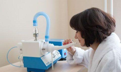 Ларингит и кашель эффективно лечат небулайзером