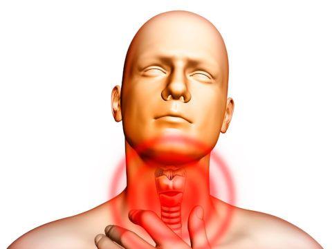 Ларингит, трахеит, фарингит поражают ротоглотку и трахею