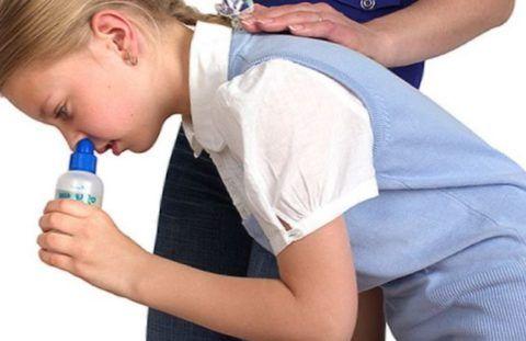 Промывание носа перед закапыванием