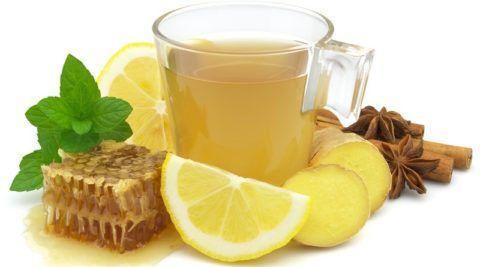Народные средства для лечения боли в горле и насморка