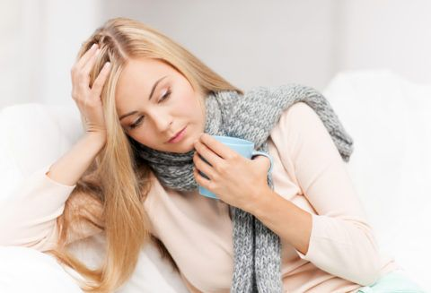 Обильное питье – помощник в лечении ангины