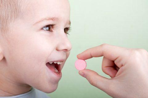Таблетка ребенку