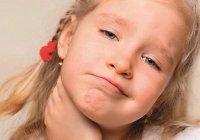 У ребёнка болит горло и температура — что это может означать?