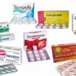 Рассасывающие таблетки при ангине