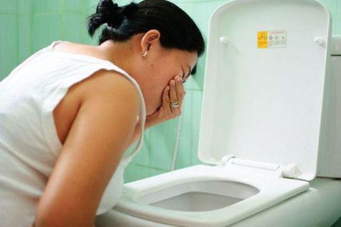 Боль в горле после рвоты