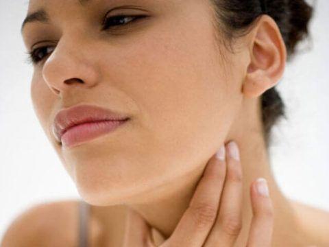 Беременность 1 триместр болит горло