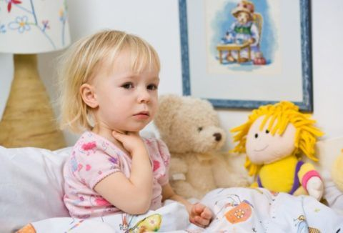 Фарингит у ребенка (фото)