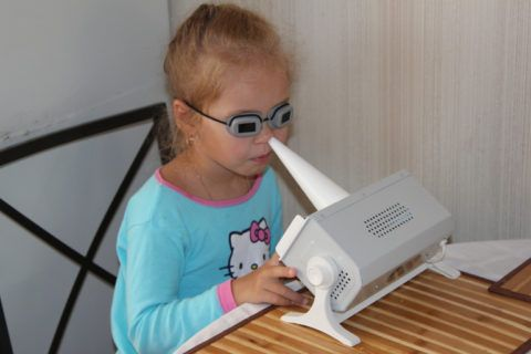 Тубус кварц ребенку