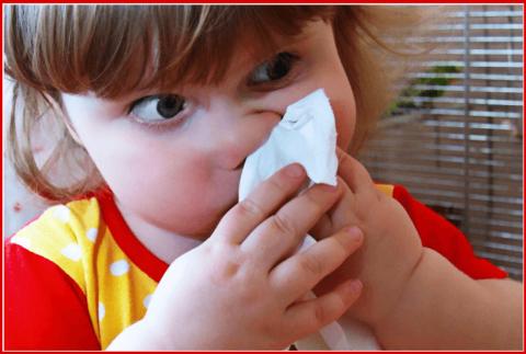 Устойчивые выделения из носа