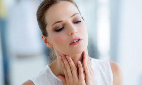 Боль в горле при глотании