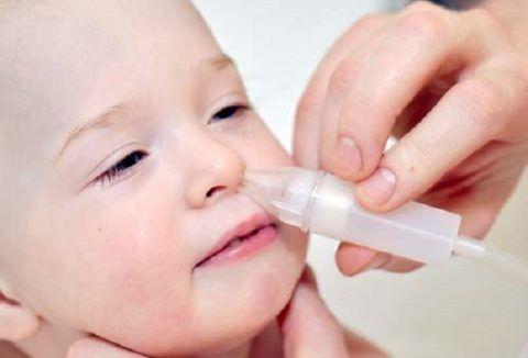 Очищение носа от слизи