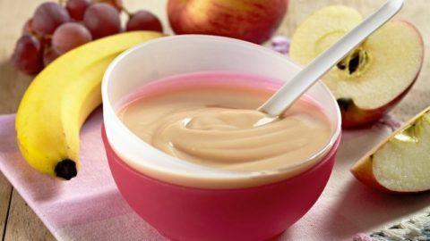 Фруктовое пюре - вкусный десерт для восстановления сил.